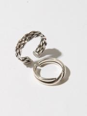 ロープ デザインリング セット