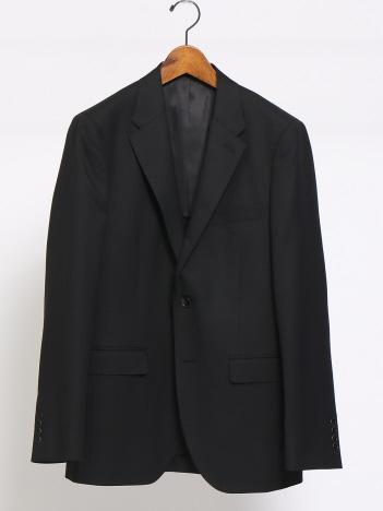 ABAHOUSE - SUPER100s ドビージャケット(ブラックカラー)
