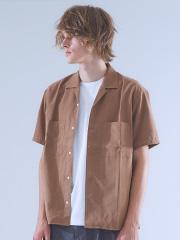 ABAHOUSE - オープンカラーワイドシルエットシャツ