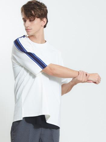 OUTLET (MEN'S) - ポンチ配色ラインTシャツ