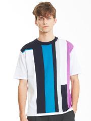 ABAHOUSE - インターシャニットTシャツ