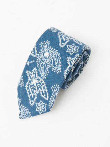 OUTLET (MEN'S) - 【NEWLY TIES 】バンダナ柄 ネクタイ