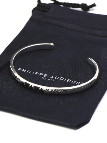 ABAHOUSE - 【PHILIPPE AUDIBERT】 メタルバングル  BR3156