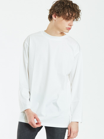 OUTLET (MEN'S) - 【AT-SCELTA/原宿店限定】コンパクトスムースボートネックTシャツ