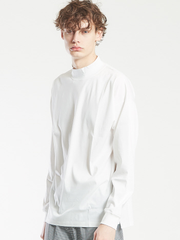 OUTLET (MEN'S) - 【AT-SCELTA/原宿店限定】コンパクトスムースモックネックTシャツ
