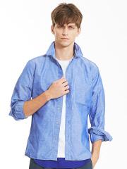 ABAHOUSE - リネンコットンワイヤーシャツ
