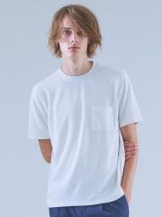 ABAHOUSE - TR鹿の子ダブルフェイスTシャツ