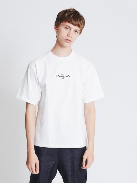 【別注】CEIZER LOGO刺繍 半袖Tシャツ