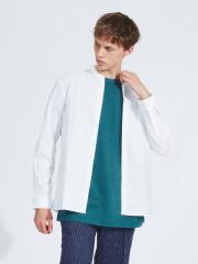 ABAHOUSE - 【KNOTT MEN】スカーフシャツ