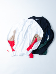 【ABAHOUSE×SUPER THANKS/別注】切り替えビッグロングTシャツ