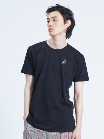 OUTLET (MEN'S) - 【CEIZER】Peace Embroidery Tシャツ