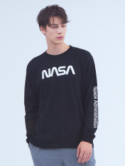 ABAHOUSE - 【NASA】ワームロゴTシャツ
