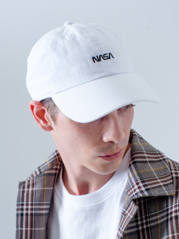 OUTLET (MEN'S) - 【NASA×NEWHATTAN】コラボロゴキャップ