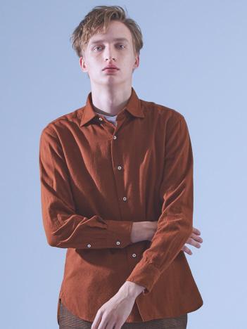 ABAHOUSE - 【Recency of Mine】メランジライトシャギーツイルシャツ