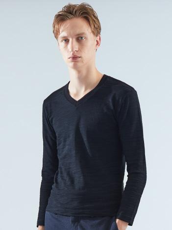 【Recency of Mine】ランダムカモフラジャカードVネックTシャツ