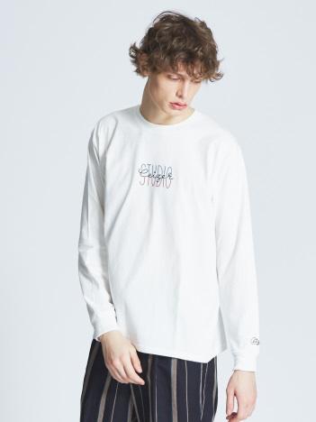 【CEIZER×ABAHOUSE/別注】ロゴ刺繍Tシャツ