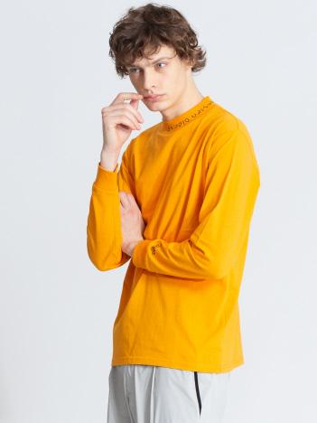 ABAHOUSE - 【CEIZER×ABAHOUSE/別注】モックネック刺繍Tシャツ