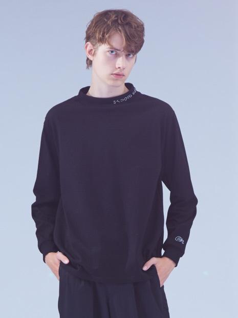 【CEIZER×ABAHOUSE/別注】モックネック刺繍Tシャツ