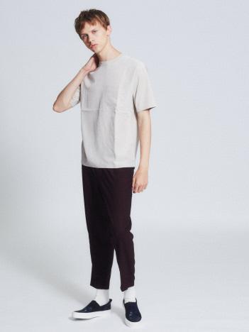 布帛コンビ半袖Tシャツ