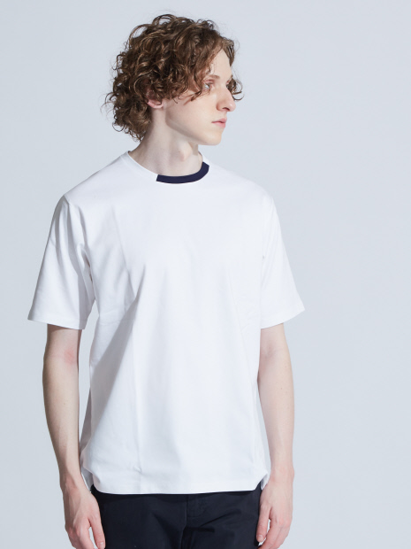 【FLAT TECH】ネックコンビネーションTシャツ