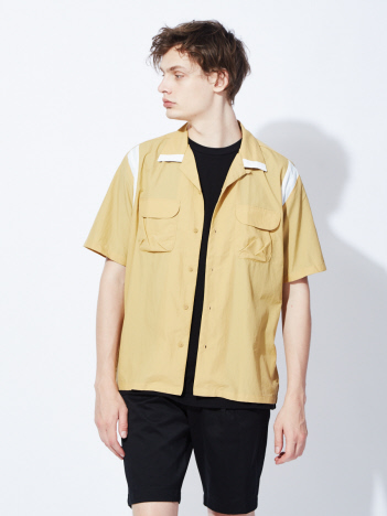 OUTLET (MEN'S) - 【DESCENTE】H/S BOWLING SHIRT ボーリングシャツ