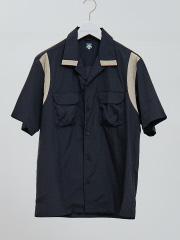 【DESCENTE】H/S BOWLING SHIRT ボーリングシャツ