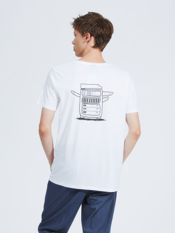 OUTLET (MEN'S) - 【OKAY】 Drucke und Kopien 半袖Tシャツ
