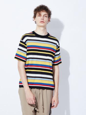 OUTLET (MEN'S) - 【Traditional Weatherwear】ボーダーニットTシャツ