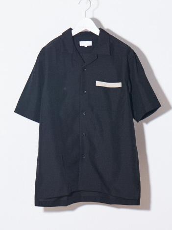 【WEB別注】トロピカルオープンカラーシャツ