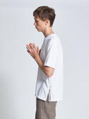 【WEB別注】サイドジップ バンダナ 半袖 Tシャツ