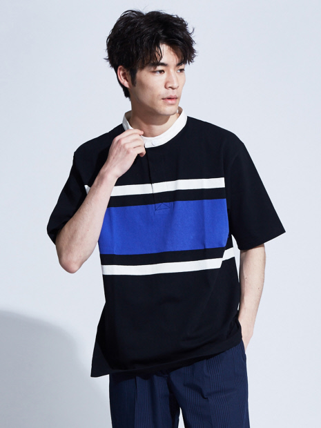 【WEB別注】バンドカラーラガーシャツ