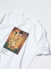 アバハウス クリムト The Kiss プリントTシャツ