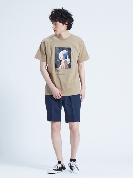 フェルメール Girl with a Pearl Earring Tシャツ