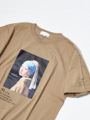 フェルメール Girl with a Pearl Earring Tシャツ