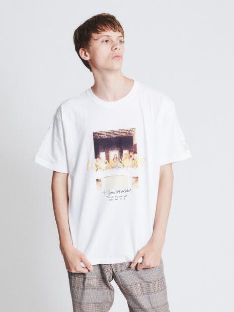 ダヴィンチ The Last Supper Tシャツ