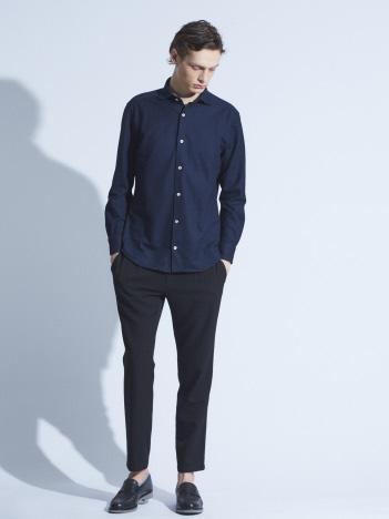 【Recency of Mine】カラミメッシュジャージーシャツ