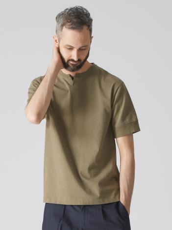 【Recency of Mine】16sBD天竺キーネックTシャツ