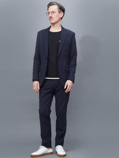 【Recency of Mine/セットアップ対応】COOLMAX トリコットメッシュジャケット
