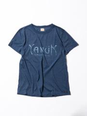 【YANUK】トライブレンドショートスリーブロゴTシャツ