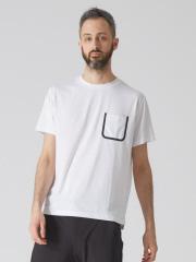 ABAHOUSE - 【YZO】シームテープポケットTシャツ