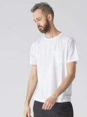 ABAHOUSE - 【YZO】ロゴシリコンプリントTシャツ