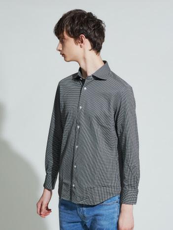 【Recency of Mine】コンパクトシルキーミニギンガムチェックシャツ