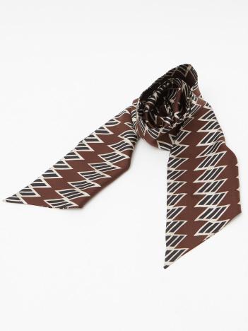 OUTLET (MEN'S) - 幾何学&チェーン柄スカーフ