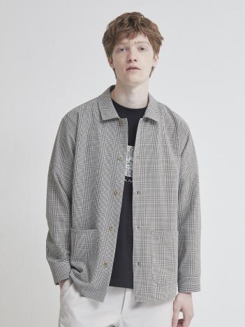 OUTLET (MEN'S) - ツイルサッカー カバーオールシャツ