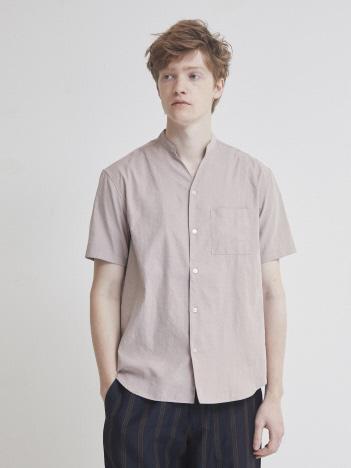 【定番】Vネック半袖シャツ