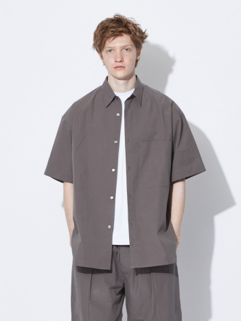 ABAHOUSE - 【STUDIO NICHOLSON】 パウダーコットン オーバーサイズシャツ