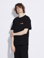 【Lemaire】 Can Edition EMBROIDRED PATCH Tシャツ