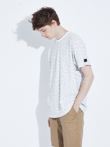 OUTLET (MEN'S) - 【DC SHOES×ELEY KISHIMOTO】総柄 半袖Tシャツ