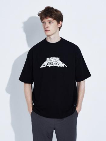 ABAHOUSE - 【SUPER THANKS】 漢字プリント 半袖Tシャツ