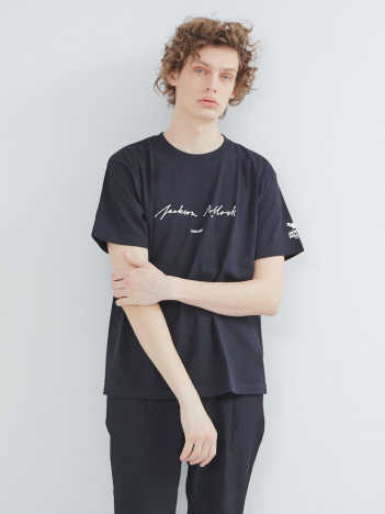 ABAHOUSE - 【WEB別注】Pollock/ポロック Sign アート Tシャツ